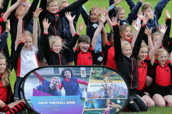 Disney and The FA join forces on campaign to inspire participation in FA Girls' Football Week