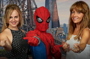 Perrie Edwards, Coronation Street cast and Tallia Storm attend Marvel Summer of Super Heroes launch at Disneyland Paris