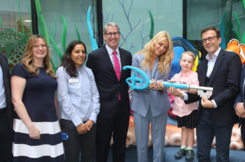 The Disney Reef, Great Ormond Street Hospital's first children's outdoor space, opens to patients