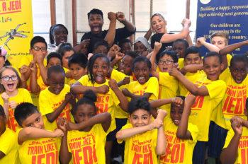 Public Health England and Disney UK inspire kids to Train Like A Jedi