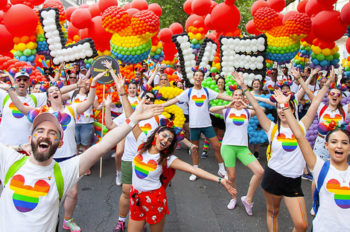 Disney and Industrial Light and Magic take part in Pride in London