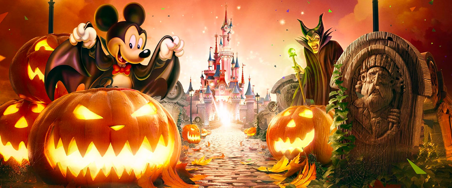 Disneyland Paris celebrates Halloween and 90 years of fun with Mickey Mouse