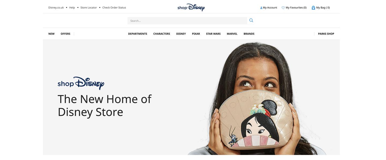 Disney EMEA launches new e-commerce destination – shopDisney