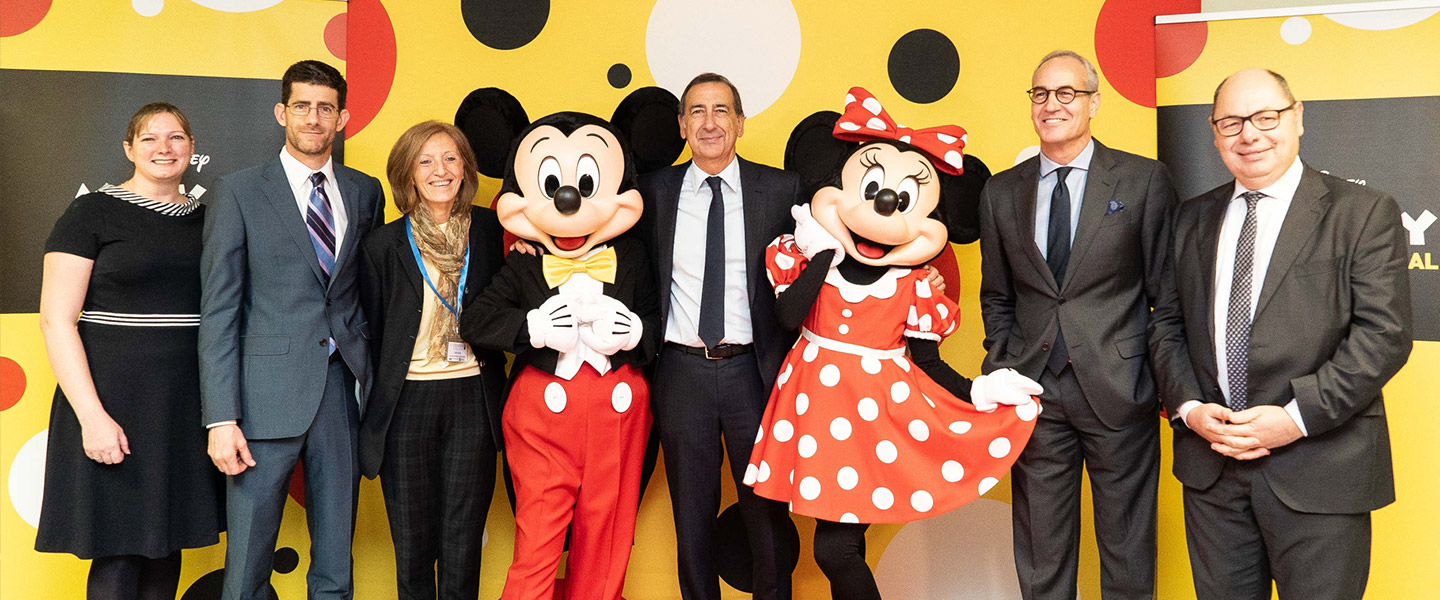 Disney Italia bringing Movie Moments to seriously ill children in Milan
