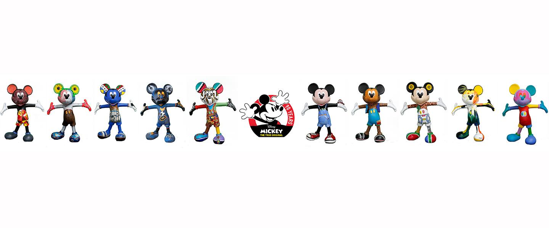 Disney Africa & Art Eye Unveil Mickey The True Original Art Collaboration