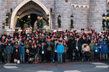 90 Children Celebrate Mickey's 90th in Disneyland Paris