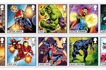 Brand New Marvel Super Hero Stamps Have Landed in the UK