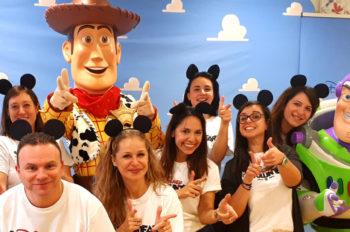 The Magic of Disney Arrives at the Gaslini Hospital in Genoa