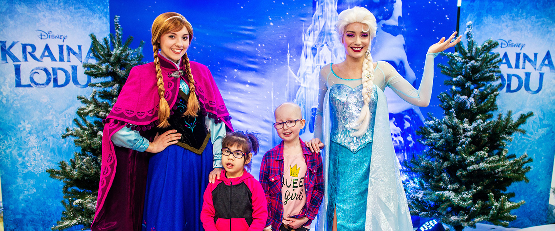 Disney Poland Bring Frozen Magic to The Children's Memorial Health Institute