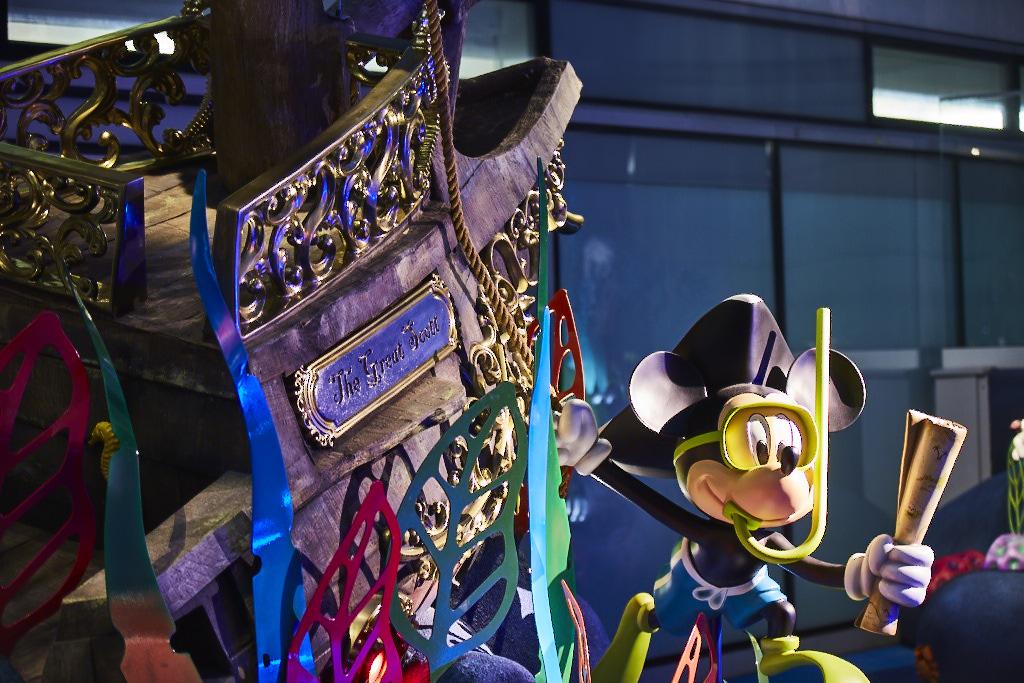 Treasure in The Disney Reef