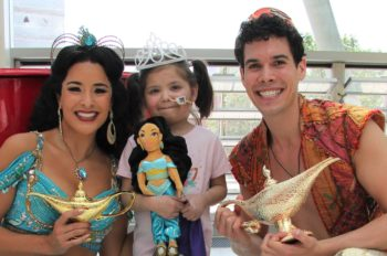 Disney and MediCinema bring the mystery and enchantment of Agrabah to Evelina London Children's Hospital