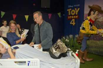 Disney and MediCinema go to Infinity and Beyond in creating Moments that Matter for seriously ill children