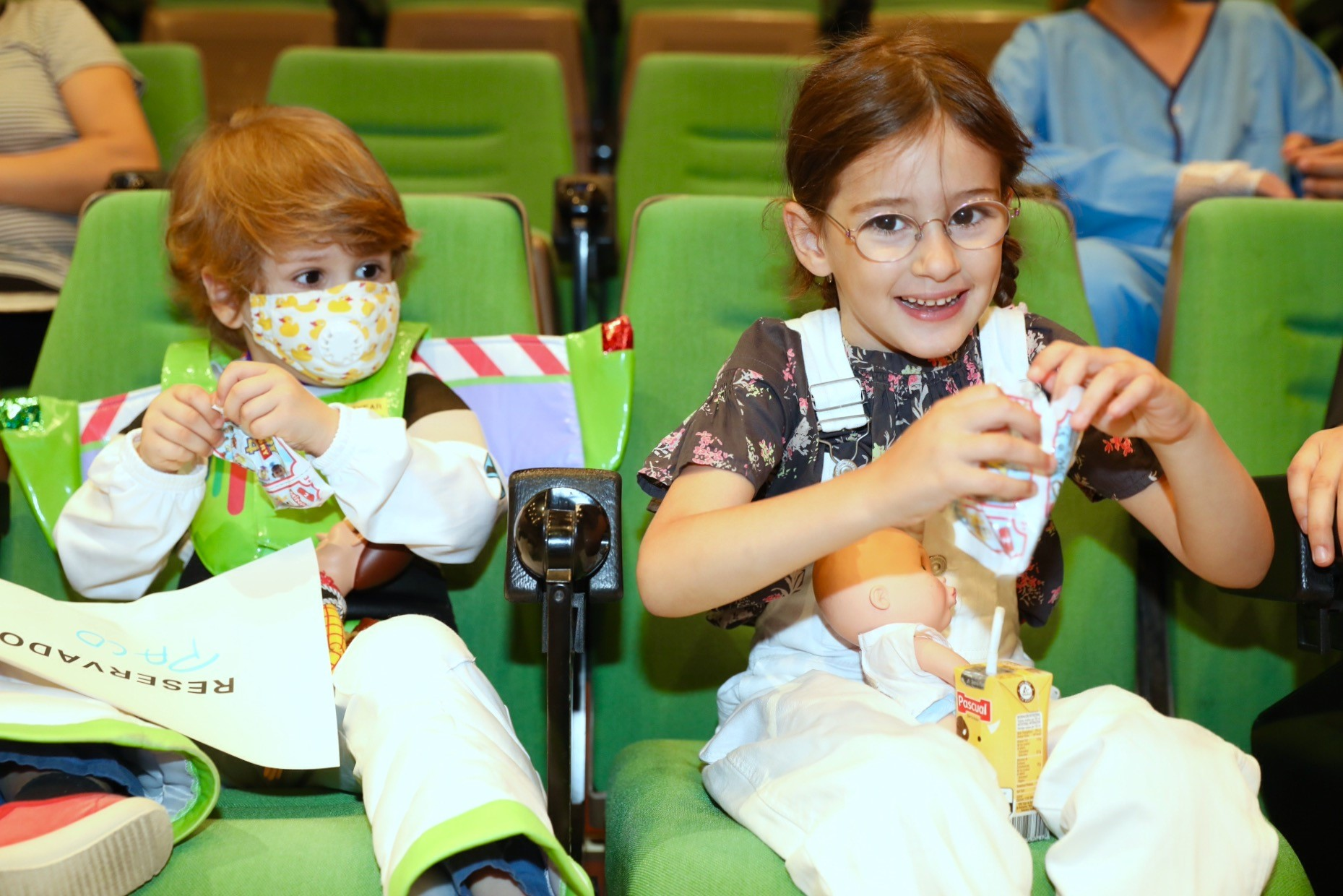 Toy Story Premiere at Children's Hospitals in Madrid and Barcelona