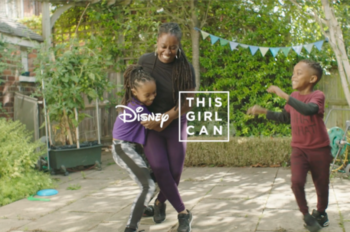 Disney Gets Mums Dancing With 'This Girl Can'