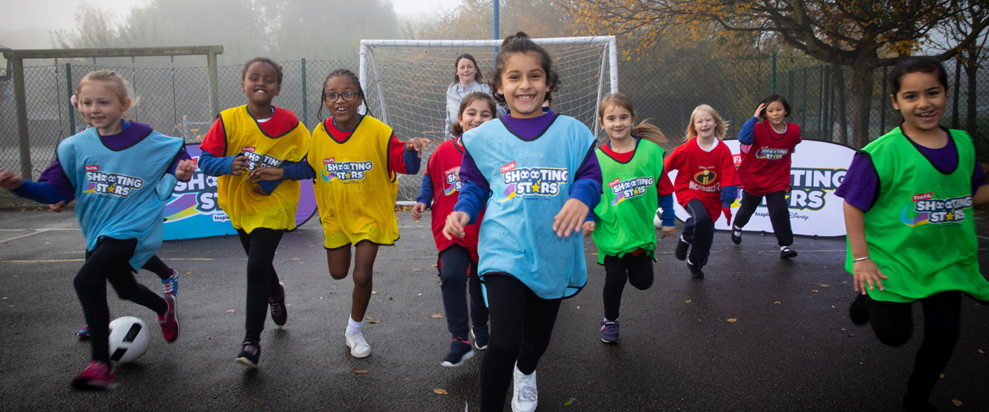 FA Launches New Shooting Stars Initiative Inspired by Disney Storytelling to Get the Nation's Girls Physically Active