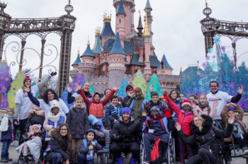 Disneyland Paris Welcomes Children from Hospitals in Belgium and France, to Experience the Magic of Disney's Enchanted Christmas