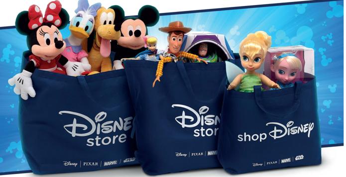 Disney anuncia fechamento de 57 Disney Stores