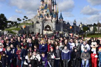 Disneyland Paris celebrates the 2020 Pièces Jaunes campaign welcoming 300 children from the Fondation Hôpitaux de Paris – Hôpitaux de France