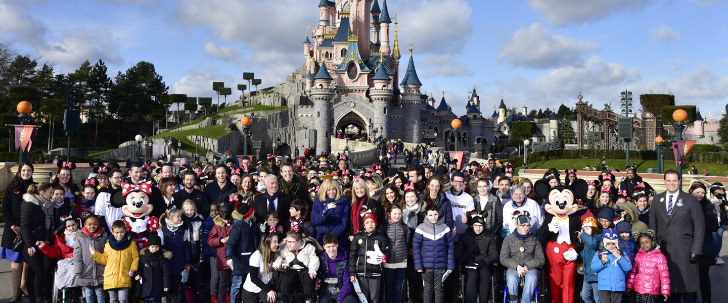 Disneyland Paris celebrates the 2020 Pièces Jaunes campaign welcoming 300 children from the Fondation Hôpitaux de Paris – Hôpitaux de France