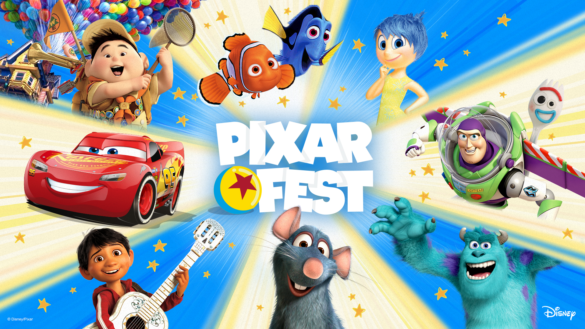 Disney Launches Pixar Fest, A Virtual Family Festival, To Mark The 25th Anniversary Of Disney And Pixar's Toy Story