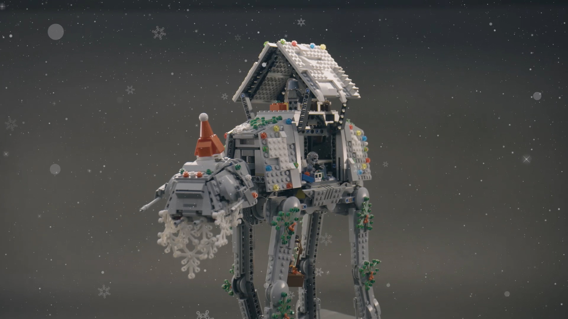 Christmas themed Imperial Sky Walker