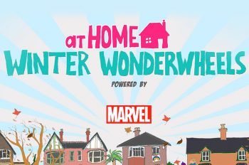 Thousands of everyday Super Heroes and five celebrity mentors take up Winter Wonderwheels race around the world challenge!