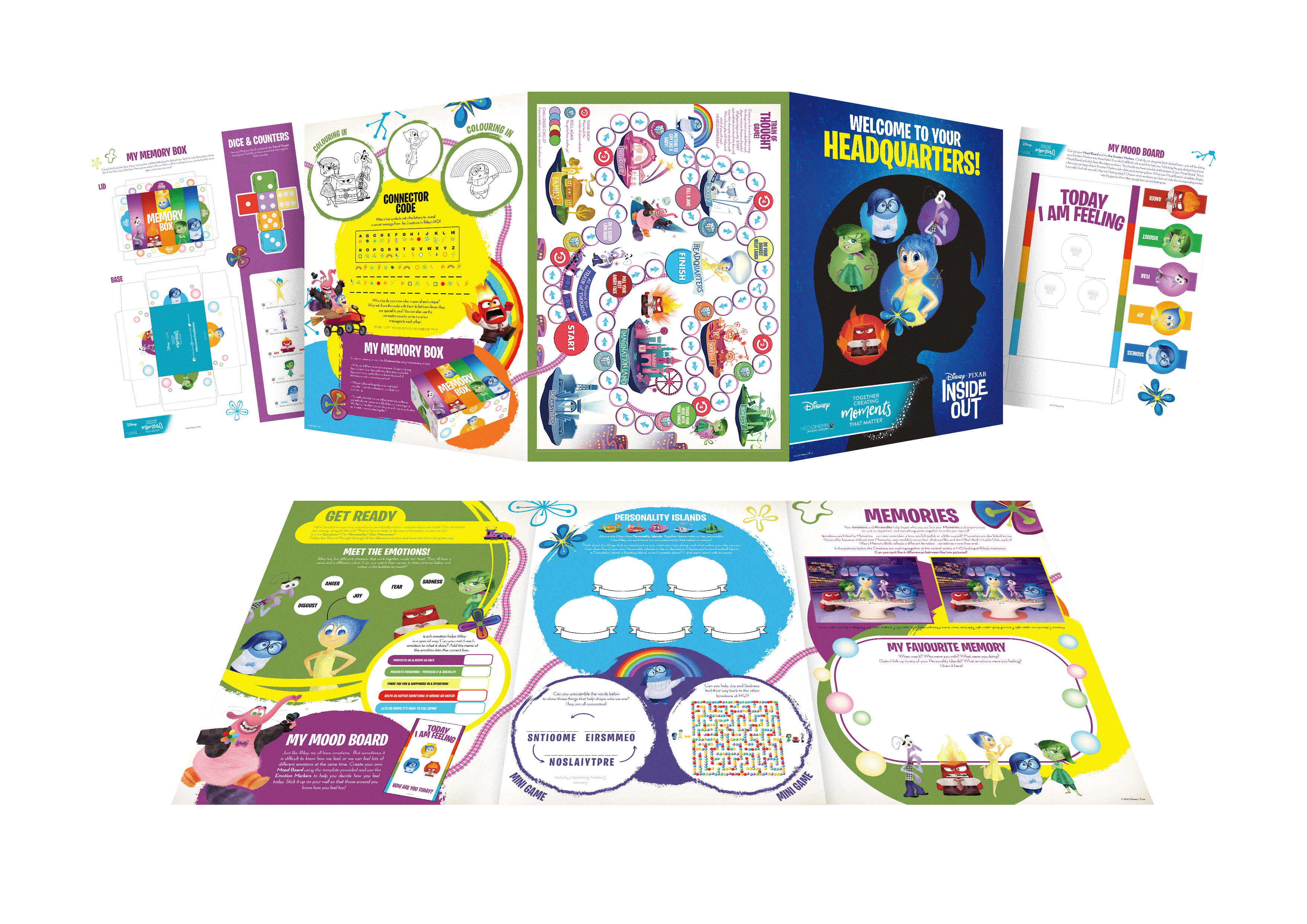 Disney UK and MediCinema create nearly 30,000 Moments That Matter for seriously ill and isolated children through activity packs with a difference