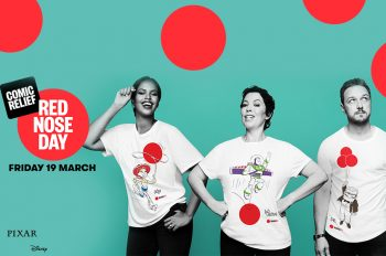 Disney Pixar team up with TK Maxx for Red Nose Day 2021 to raise money for Comic Relief