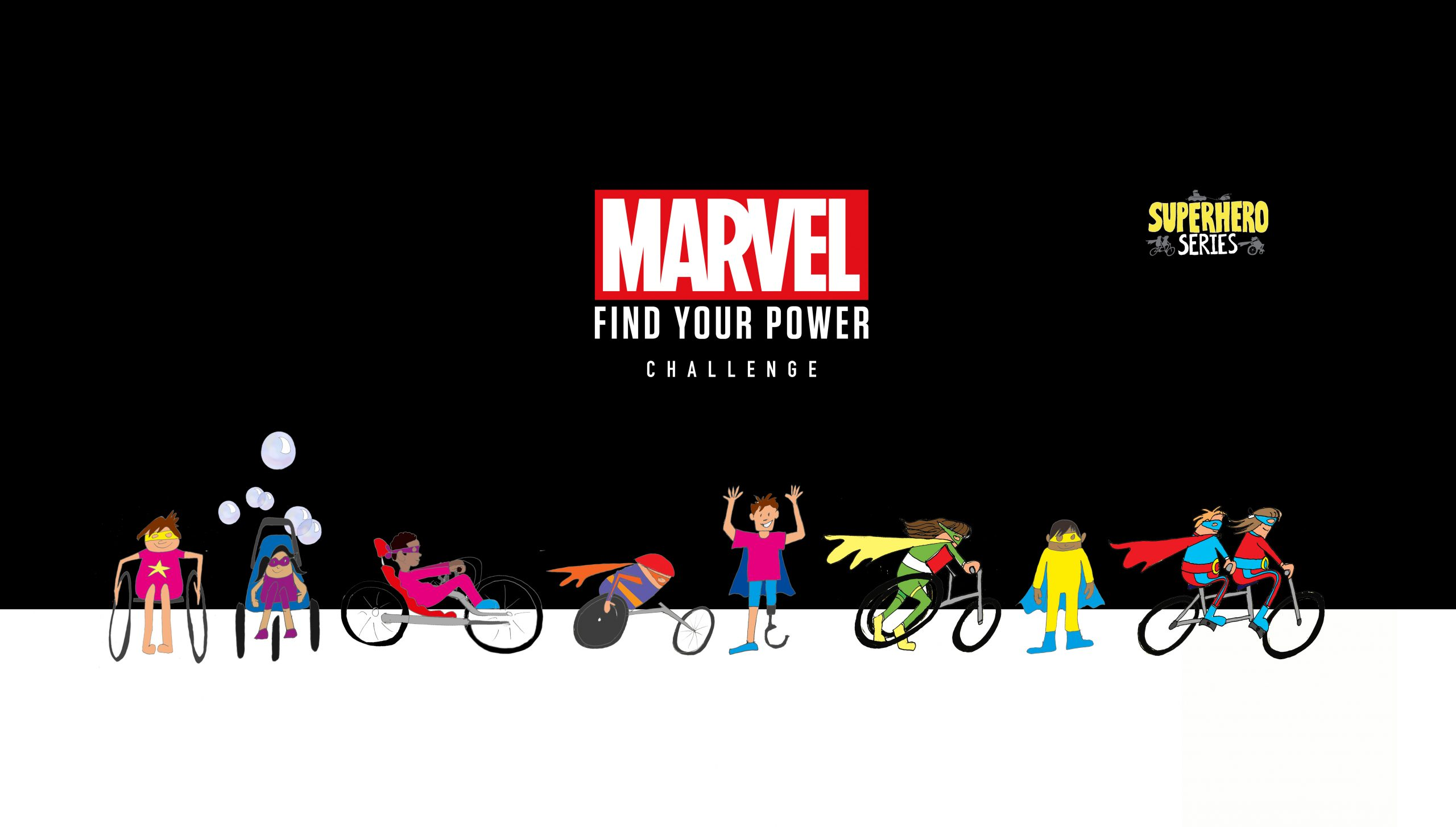 Calling all Superheroes – Sign Up to the Find your Power Challenge
