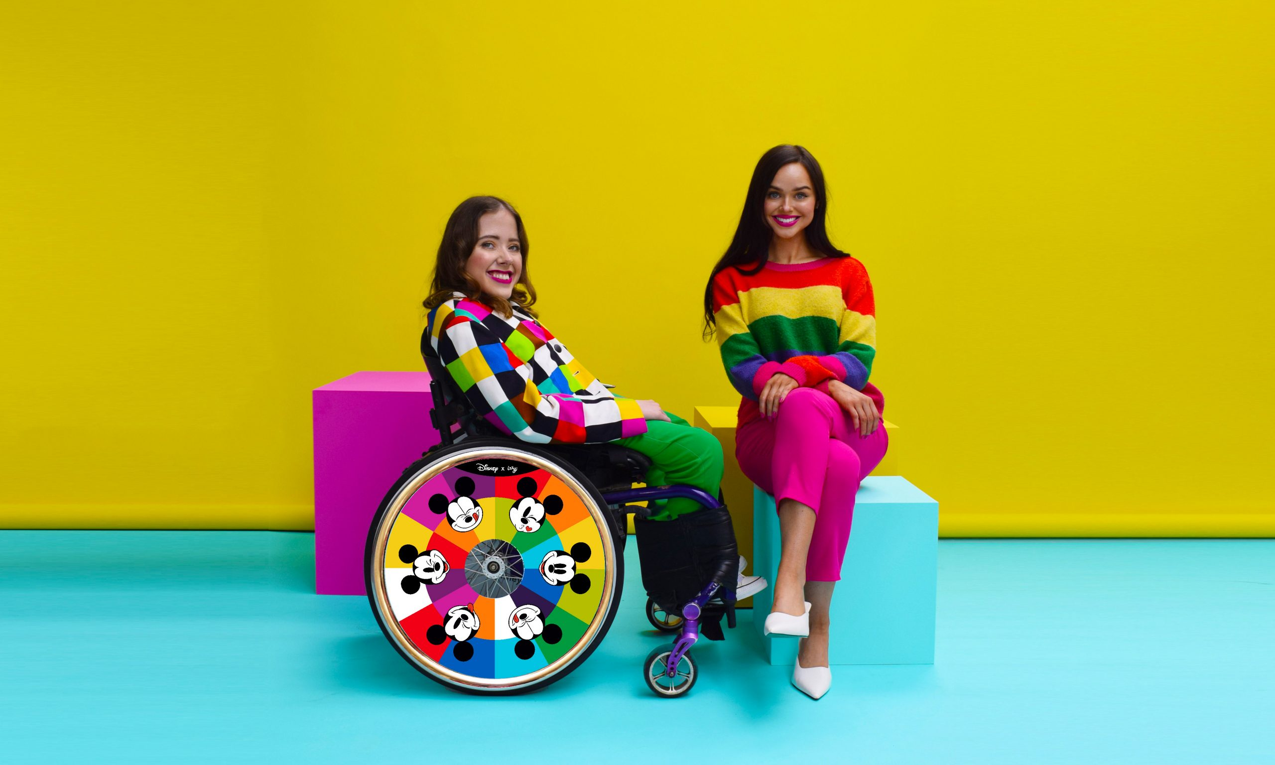Disney teams up with Irish-based business Izzy Wheels to launch fashionable collection of wheelchair covers