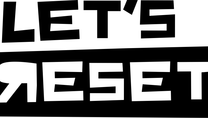 Let's Reset Logo
