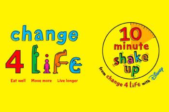 Disney UK 10 Minute Shake Ups