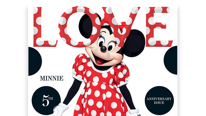 2013 Minnie Mouse Love mag history