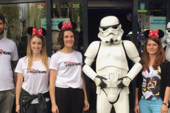 May the Force be with you! – 'Star Wars' hospital visit and screening in Munich (German)